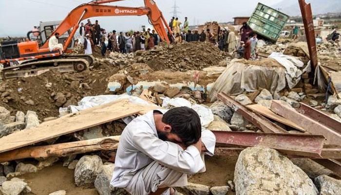 افغانستان میں سیلاب سے 122 ہلاکتیں، 147 افراد زخمی، متعدد لاپتہ