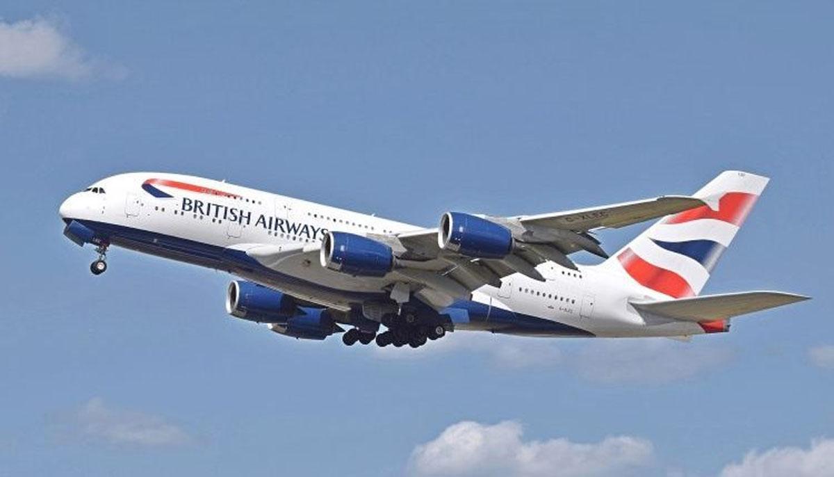 برطانوی ائرویز کا لندن سے لاہور کیلئے براہ راست پروازوں کا اعلان