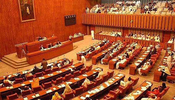 تعزیرات پاکستان کی سیکشن 124 اے ختم کیے جانے سے متعلق بل پر سینیٹ اجلاس