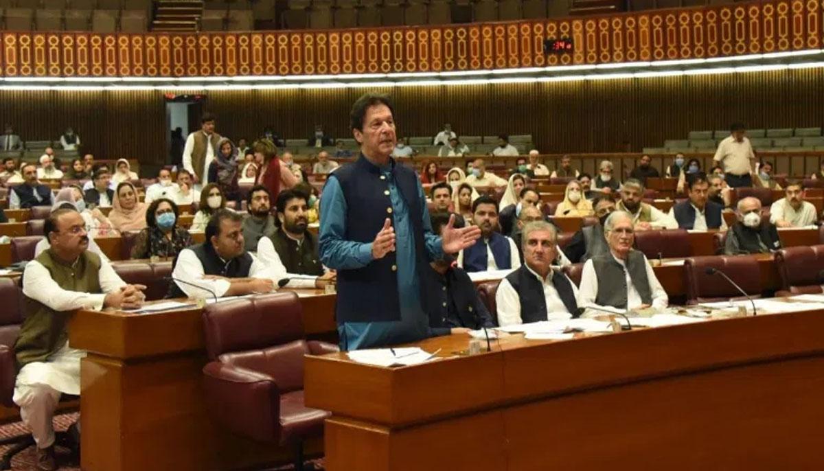 ووٹ کوعزت دو،چورکوڈنڈادوکے نعرے، پارلیمنٹ اجلاس کی جھلکیاں