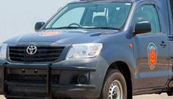 پولیس موبائل کی رکشا کو ٹکر، سوار زخمی