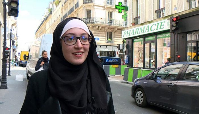 فرانس میں اراکین پارلیمنٹ اسلامو فوبیا کاشکار،باحجاب خاتون کی آمد پر واک آؤٹکرگئے