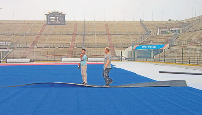 ہاکی اسٹیڈیم میں تزئین و آرائش اور ٹرف کی بحالی کا فیصلہ