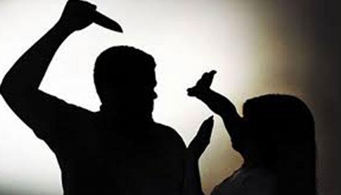 شانتی نگر، شوہر نے گھریلو ناچاقی پر چھری کے وار سے بیوی کو قتل کردیا
