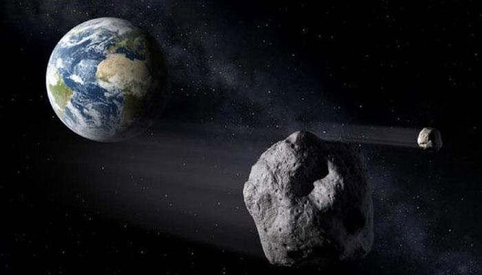 اسکول بس جتنے سیارچے کا زمین کے انتہائی قریب سےسفر
