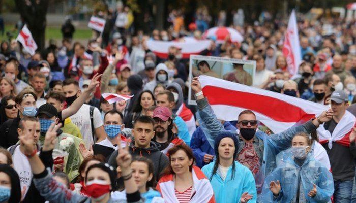 بیلاروس میں مزید بد امنی  اپوزیشن کی احتجاجی ریلیاں