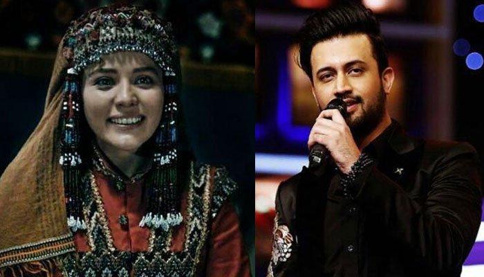 ترک اداکارہ برسبین عبداللہ کی عاطف اسلم کا گانا گنگنانے کی ویڈیو وائرل