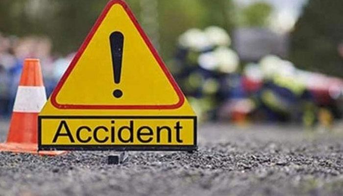 ٹریفک حادثے اور ٹرین کی ٹکر سے 2 افراد جاں بحق ایک زخمی