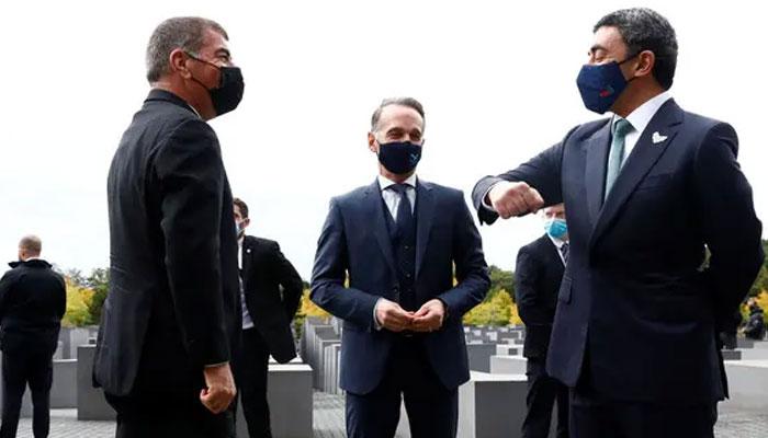 متحدہ عرب امارات اور اسرائیلی وزرا خارجہ کی ہولو کاسٹ کی یادگار پر ملاقات
