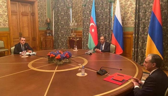 کاراباخ میں امن کیلئے آرمینیا، آذربائیجان کی روس میں بیٹھک