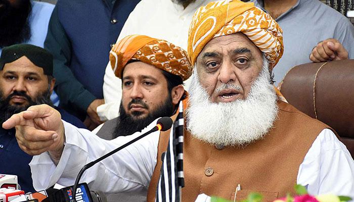 گرفتاریاں کیں تو جلوسوں کا رُخ جیلوںکی طرف ہوگا، مولانا فضل الرحمٰن