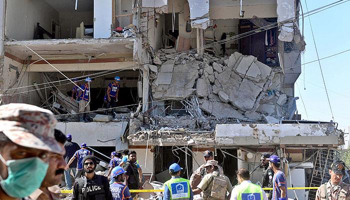 مسکن واقعہ، مکینوں کے متضاد بیانات سے دھماکے کی نوعیت مشکوک