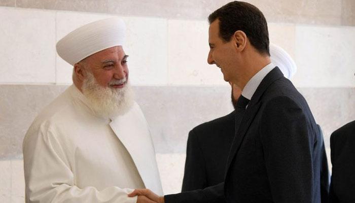 شامی صدر بشار الاسد کے قریبی مفتی دھماکے میں جاں بحق