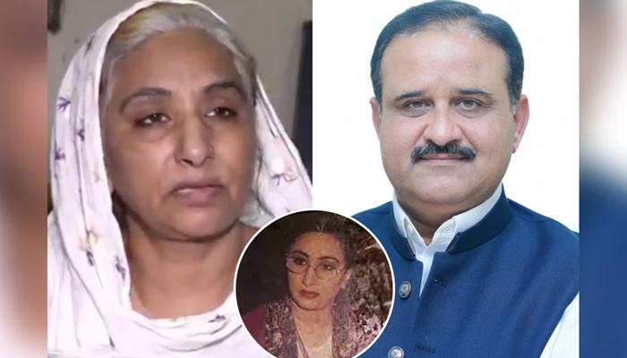 وزیراعلیٰ پنجاب کی ماضی کی اداکارہ ثمینہ بٹ کی امداد اور ماہانہ وظیفہ مقرر