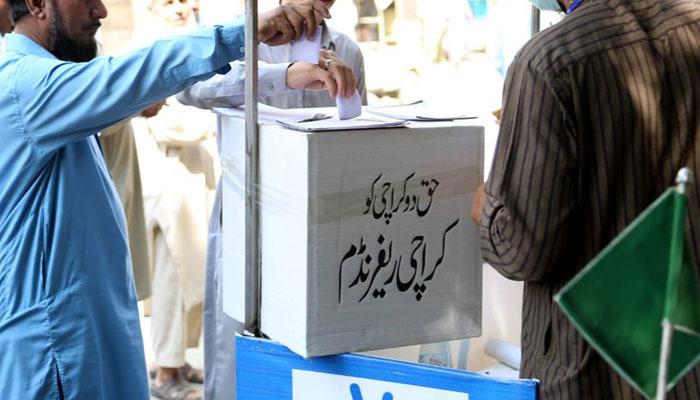 کراچی کو با اختیار شہری حکومت دی جائے، 98 فیصد رائے دہندگان کا مطالبہ