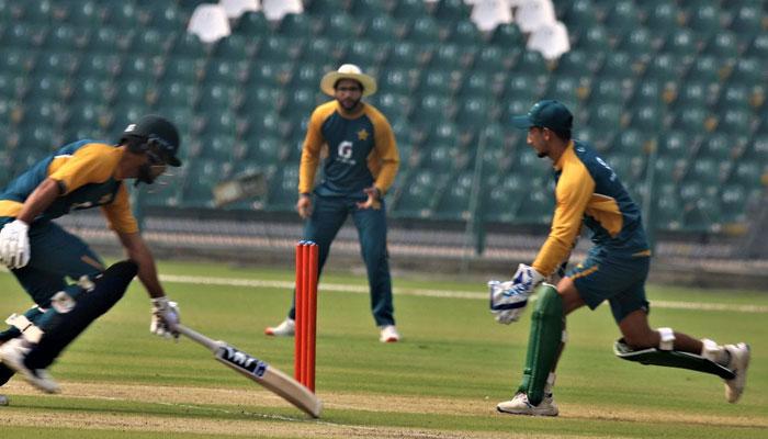 پریکٹس میچ: پاکستان گرینز نے وائٹس کو 7وکٹ سے مات دیدی