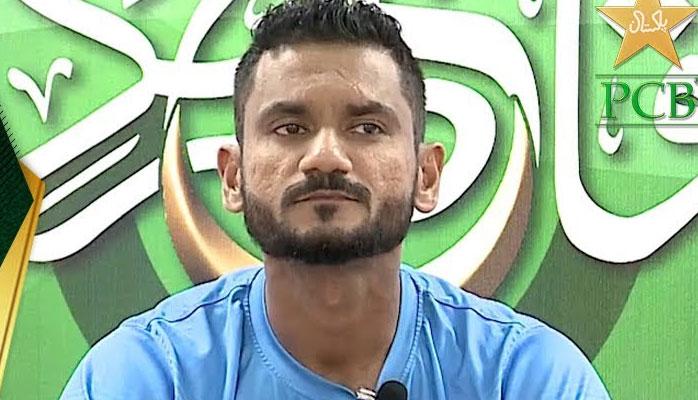تابش خان کی عمدہ کارکردگی پر والد کو یاد کرکے روپڑے