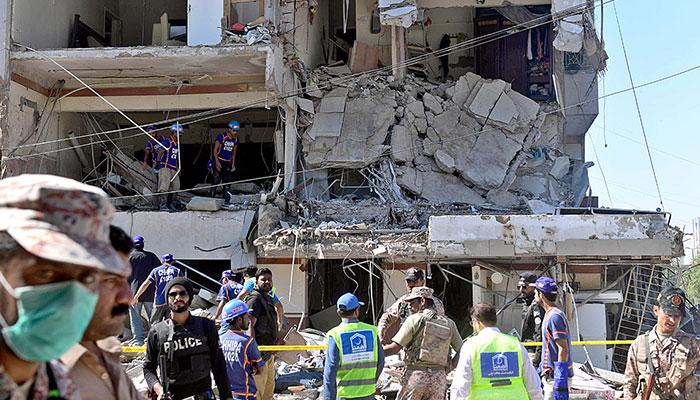 مسکن چورنگی، دھماکے کا ایک اور زخمی دوران علاج چل بسا
