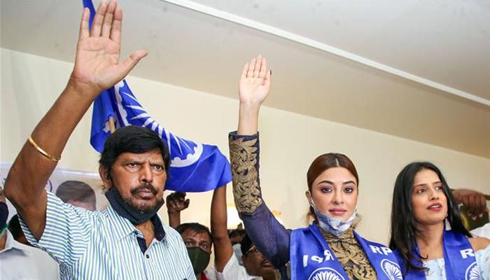 پائل گھوش نے بھارتیہ ری پبلکن پارٹی میں شمولیت اختیار کرلی