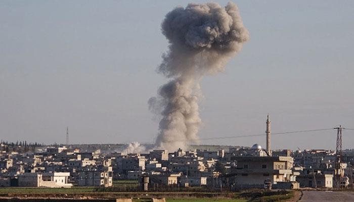 شام ، روسی طیاروںکی بمباری، ترک حمایت یافتہ 78 جنگجو ہلاک
