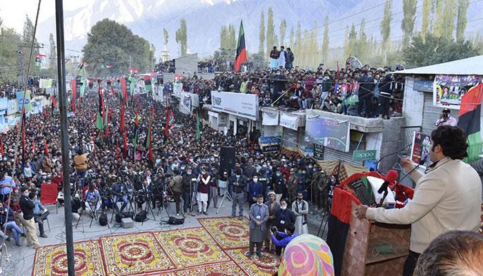 گلگت میں دھاندلی ہوئی تواسلام آباد میں دھرنا دینگے، بلاول