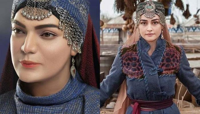 میک اپ آرٹسٹ شعیب خان نے حلیمہ سلطان کا روپ دھار لیا
