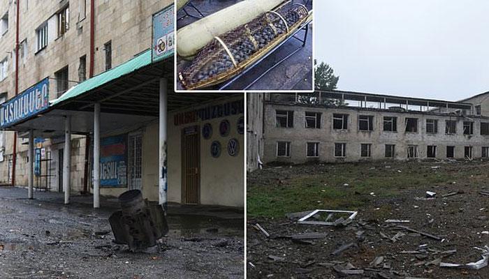 آذربائیجان کا آرمینیا پر کلسٹر بم استعمال کرنے کا الزام