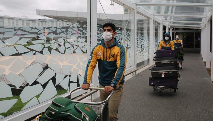 پاکستان کرکٹ ٹیم 35گھنٹے سفر کر کے نیوزی لینڈ پہنچ گئی