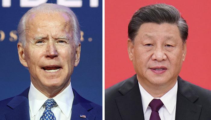 چینی صدرشی کی دو ہفتے کے بعد نومنتخب امریکی صدر جوبائیڈن کو مبارک باد