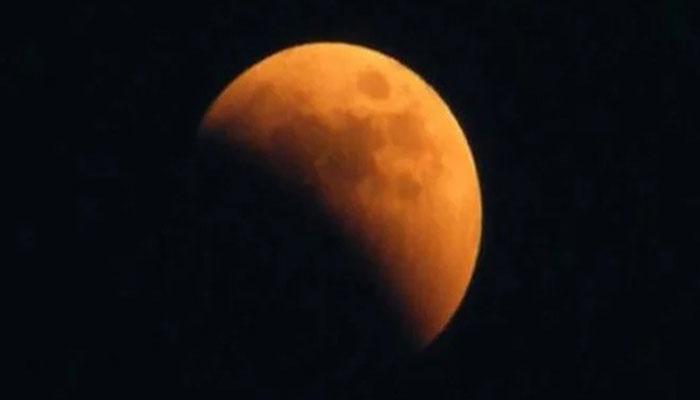 رواں سال کا چوتھا اور آخری چاند گرہن آج اور کل درمیانی رات کو ہوگا