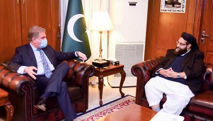 طاہر اشرفی کی شاہ محمود سے ملاقات، او آئی سی اجلاس کے ثمرات پر تبادلہ خیال
