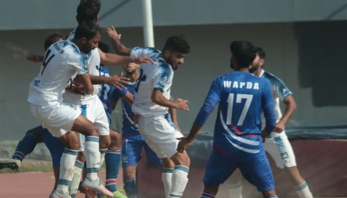 چیلنج کپ فٹ بال :سوئی سدرن اور اے اے فارمزکامیاب