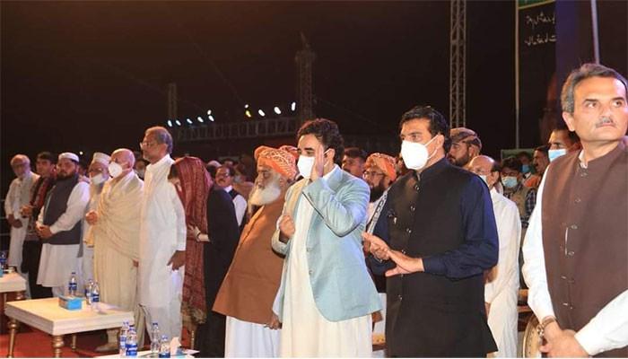 پی ڈی ایم کا13 دسمبر کا لاہور جلسہ رکوانے کی درخواست مسترد