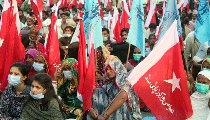 نجکاری، مہنگائی، جبری گمشدگیوں اورجزائر پر قبضے کیخلاف سندھ عوامی مارچ