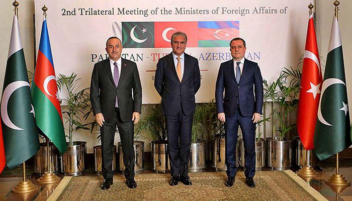 پاکستان'ترکی اور آذربائیجان کا مختلف شعبوںمیںتعاون بڑھانے پر اتفاق