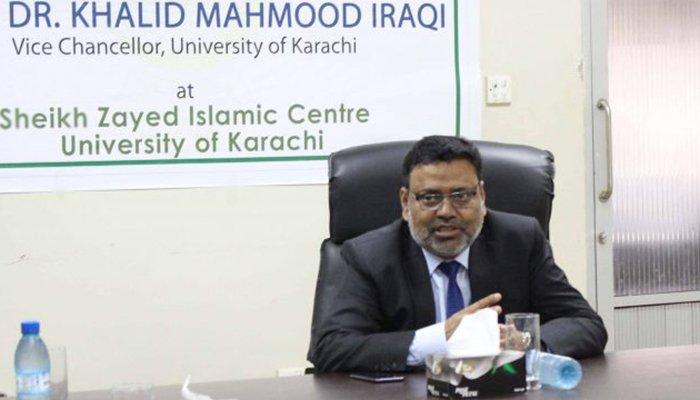 پانی کے ضیاع کو روکنے کیلئے عملی اقدامات کرنا ہونگے، ڈاکٹر خالد عراقی