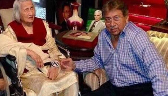 مشرف کی والدہ کی نماز جنازہ آج دبئی میں ادا کی جائے گی