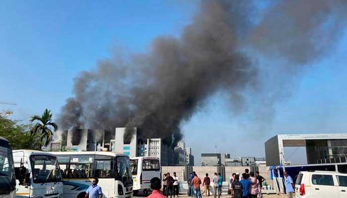 بھارت،ویکسین کے دنیا کے سب سے بڑے پلانٹ میں آتشزدگی سے 5افراد ہلاک