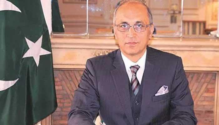 پاکستانی سفیر معین الحق کی چینی نائب وزیر ایشیائی امور سے ملاقات معیشت کی تیز تر بحالی پر اتفاق