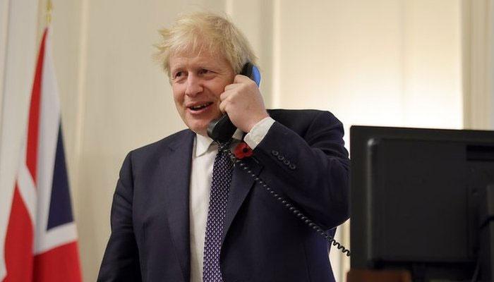 امریکی صدر اور برطانوی وزیراعظم کی ٹیلیفونک گفتگو، اہم امور پر تبادلہ خیال