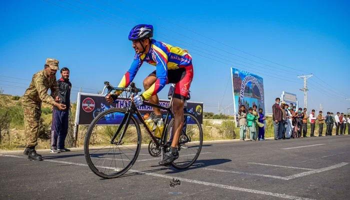 تین روزہ سائیکل ریس پاکستان آرمی کے نام