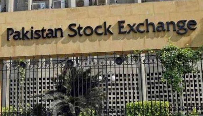 اسٹاک مارکیٹ، کاروباری ہفتے کا منفی آغاز، 338 پوائنٹس کم