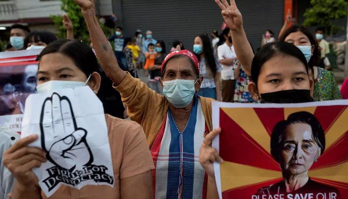 میانمار کی فوج و پولیس انسانی حقوق کا احترام اور برداشت کا مظاہرہ کرے، یورپی یونین اور جی سیون کا مطالبہ