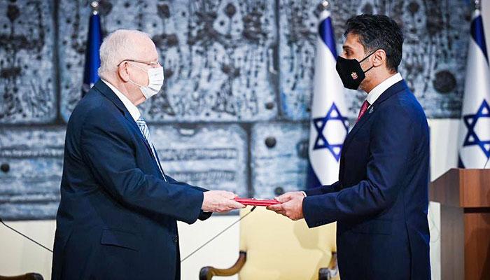 یو اے ای کے سفیر نے اسرائیل پہنچ کر چارج سنبھال لیا