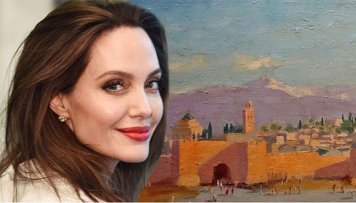 اینجلینا جولی کی زیرِ ملکیت چرچل کی پینٹنگ ایک کروڑ ڈالر سے زائد میں نیلام