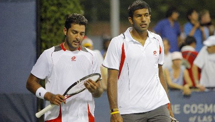 اعصام اور بوپننا پھر اکٹھے، پاک بھارت ٹینس ایکسپریس چل پڑی