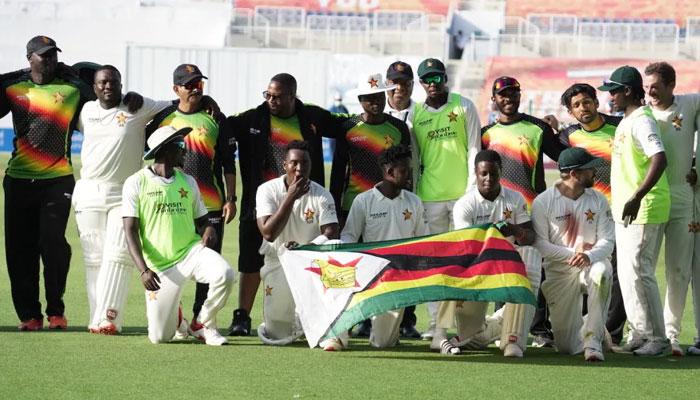 زمبابوے نے پہلا ٹیسٹ جیت لیا