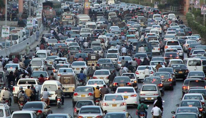 ٹریفک جام کے دوران وارداتیں