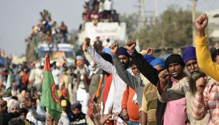کسانوں نے بھارتی پارلیمنٹکے گھیراؤ کی تیاریاں مکمل کرلیں