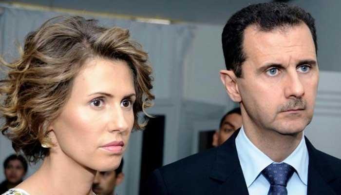 بشار الاسد اور ان کی اہلیہ کورونا وائرس کا شکار
